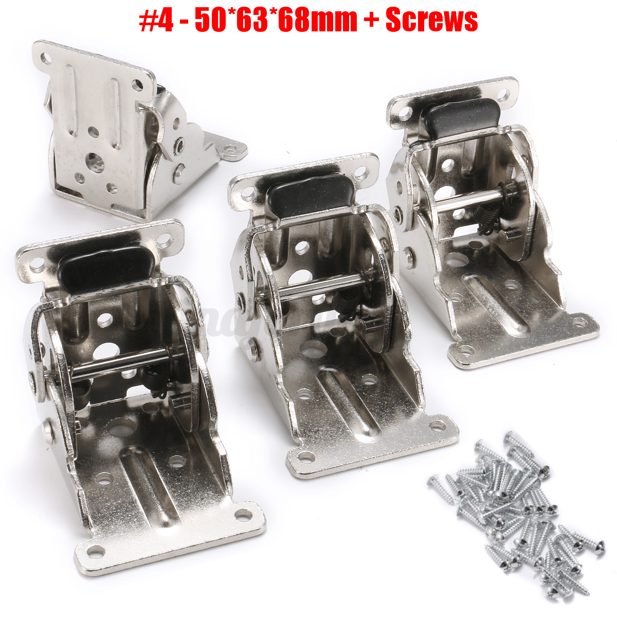 4pcs set 4 types diy self locking folding bracket folding for Table locks acquired immediately 99