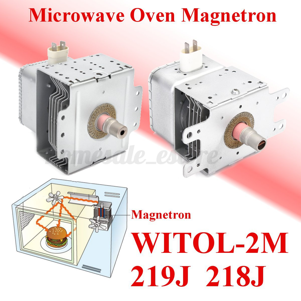 Microwave Oven Roaster Magnetron Replacement Parts For