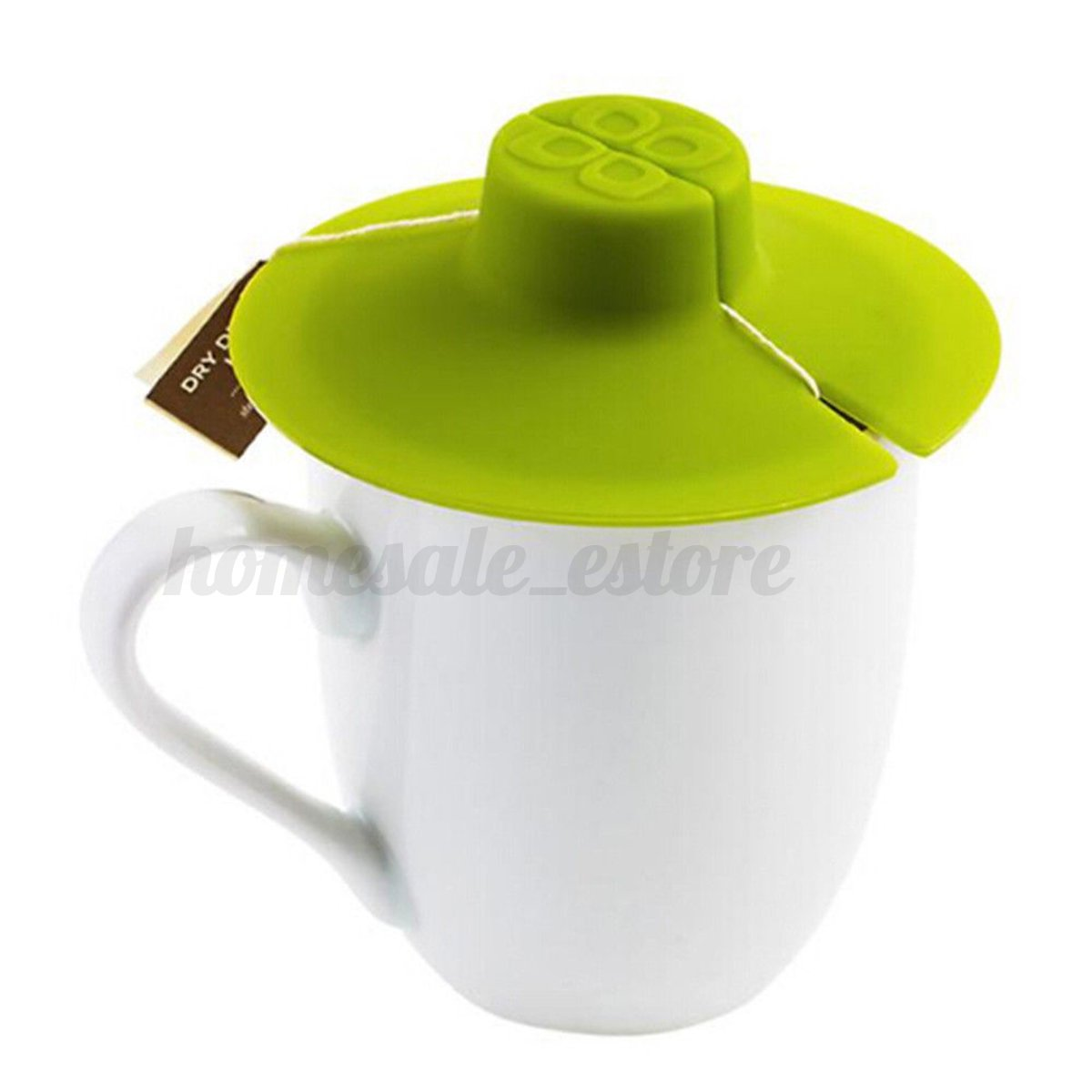 3pcs silicone tea bag buddy cup lid cover heat resistant kitchen drinkinig tools ebay. Black Bedroom Furniture Sets. Home Design Ideas