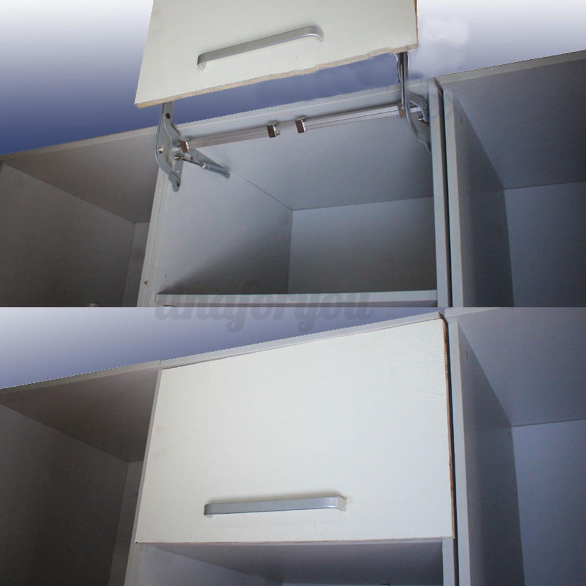 Cabinet Door Lift Up Mechanism : Cabinet door vertical swing lift up stay pneumatic arm