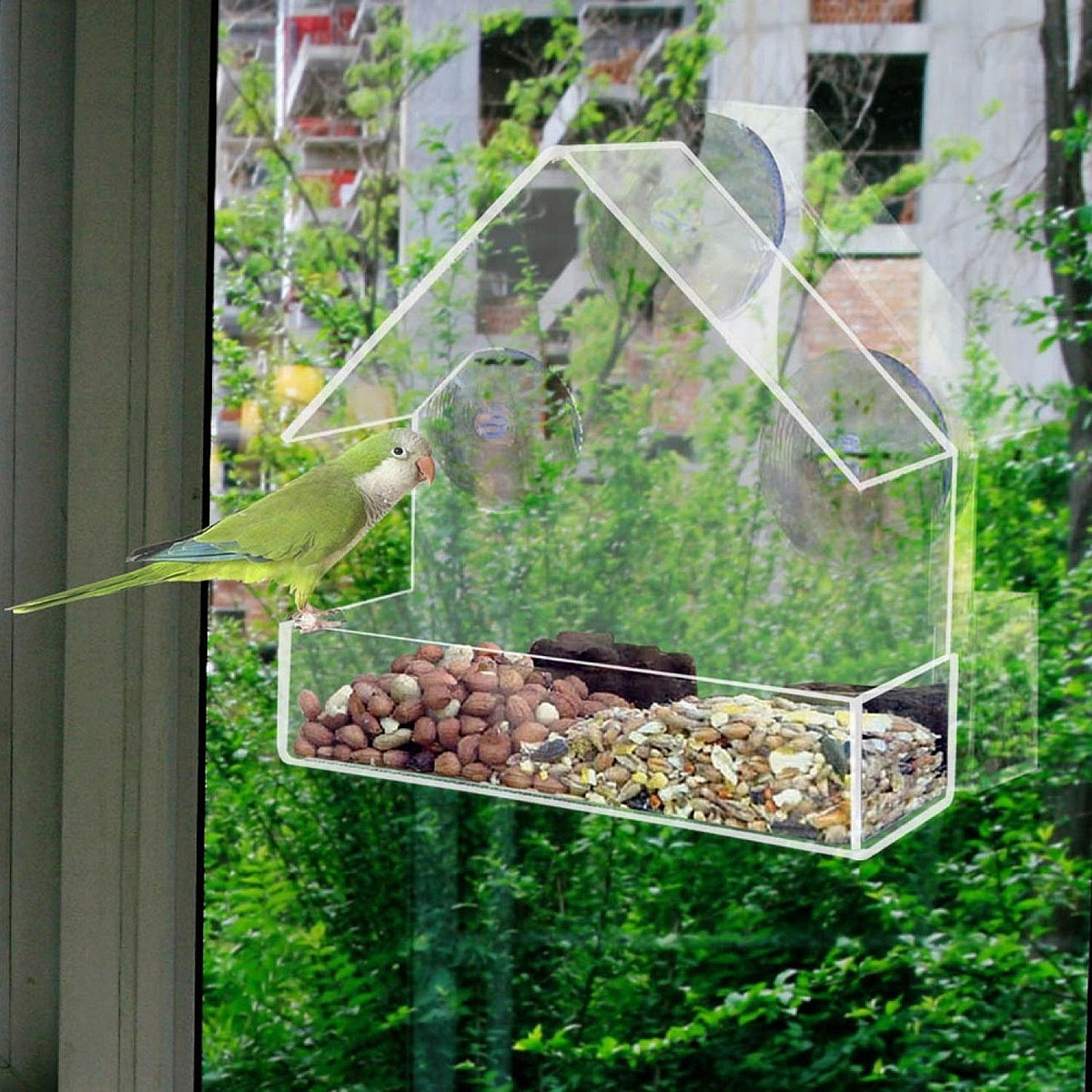 milk uczarczyk tweet house resto bird feeders feeder modern by acrylic jolanta design
