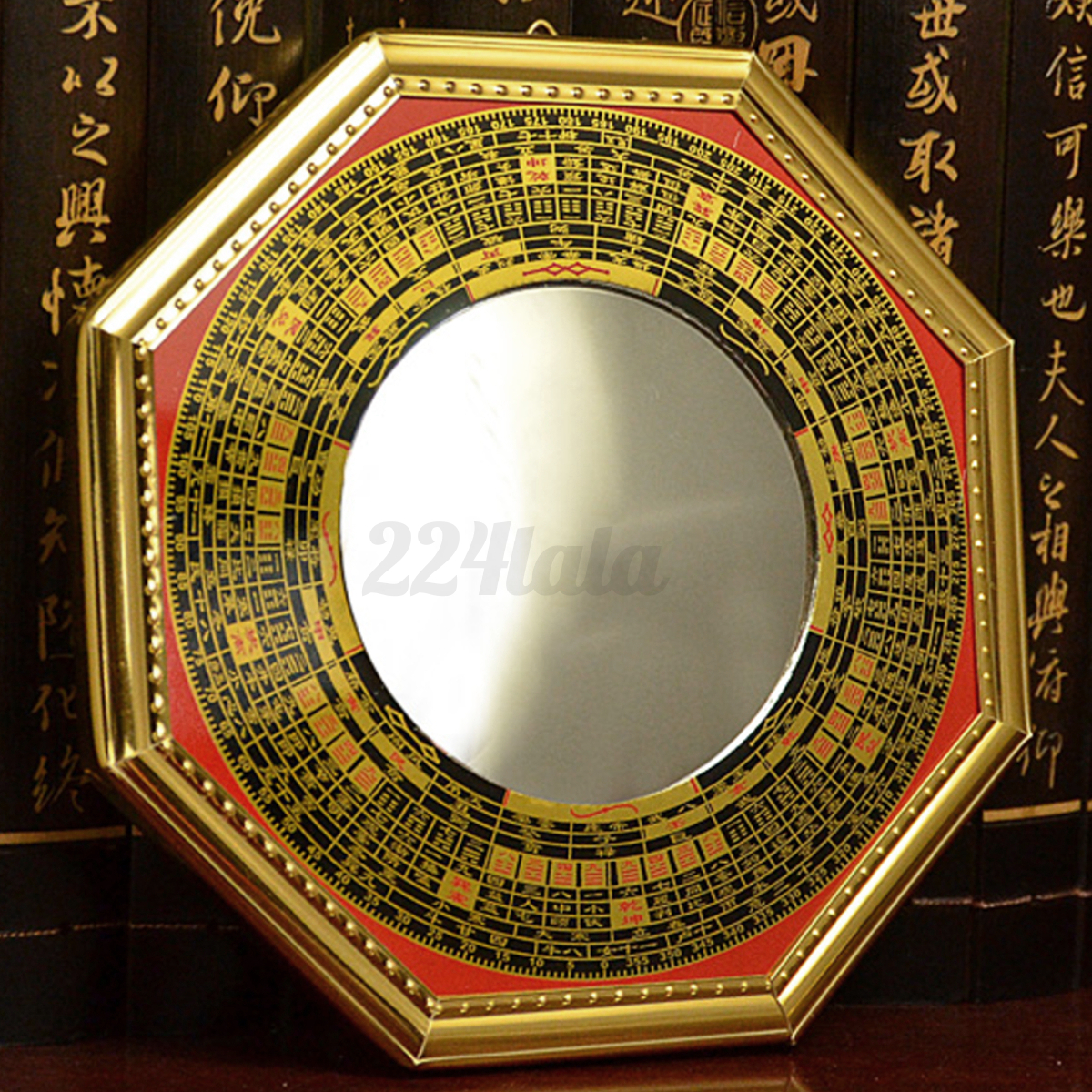 5 chinese oriental protection feng shui home house convex bagua mirror new ebay. Black Bedroom Furniture Sets. Home Design Ideas