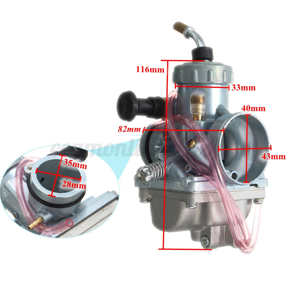 new engine carburetor carb assembly for yamaha yfs200 blaster 200 1988 2006 ebay. Black Bedroom Furniture Sets. Home Design Ideas
