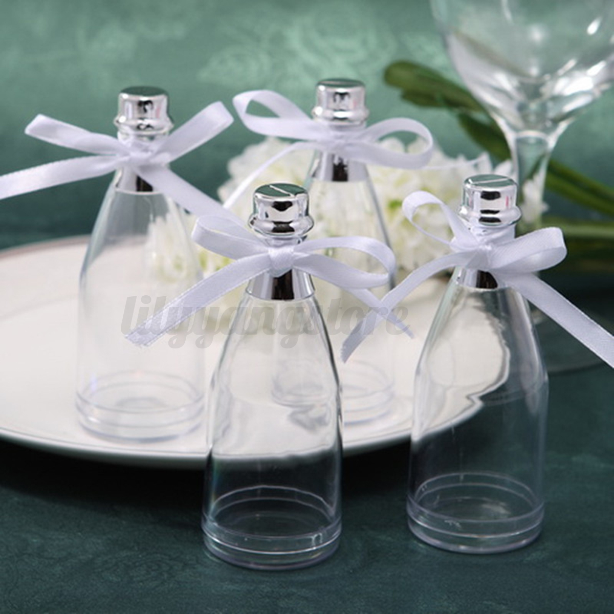 48 Fillable Champagne Bottles Wedding Party Shower Event Favors ...