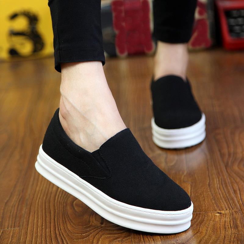 Platform Wedge Slip On Shoes