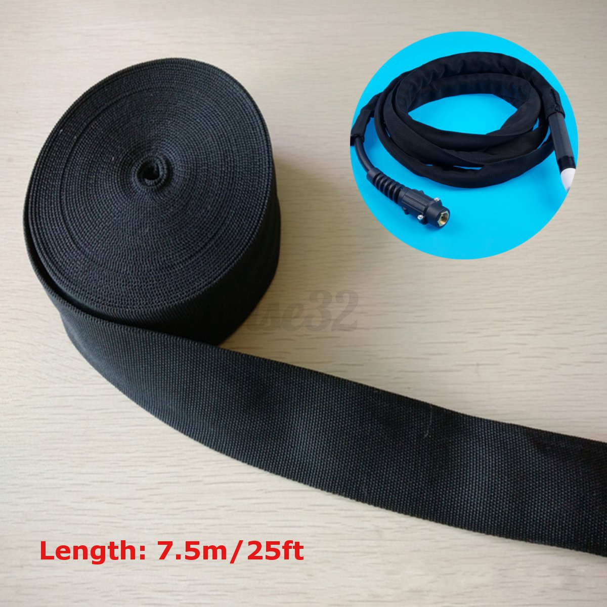 25 Nylon Protective Sleeve Sheath Cable Cover Welding