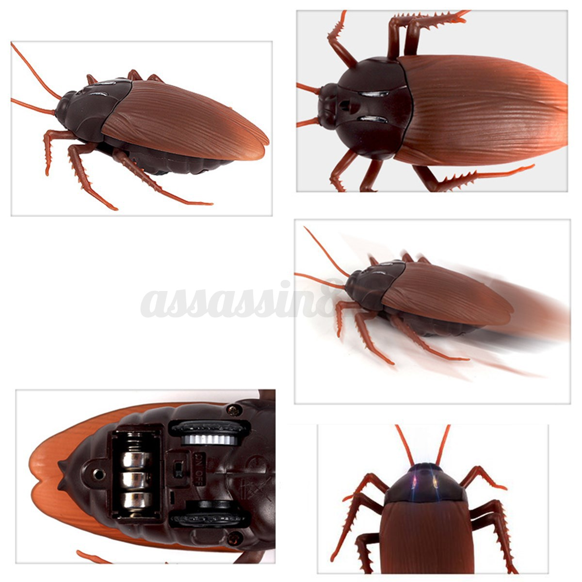 Bug Toys For Boys : Simulation infrared rc remote control scary creepy insect