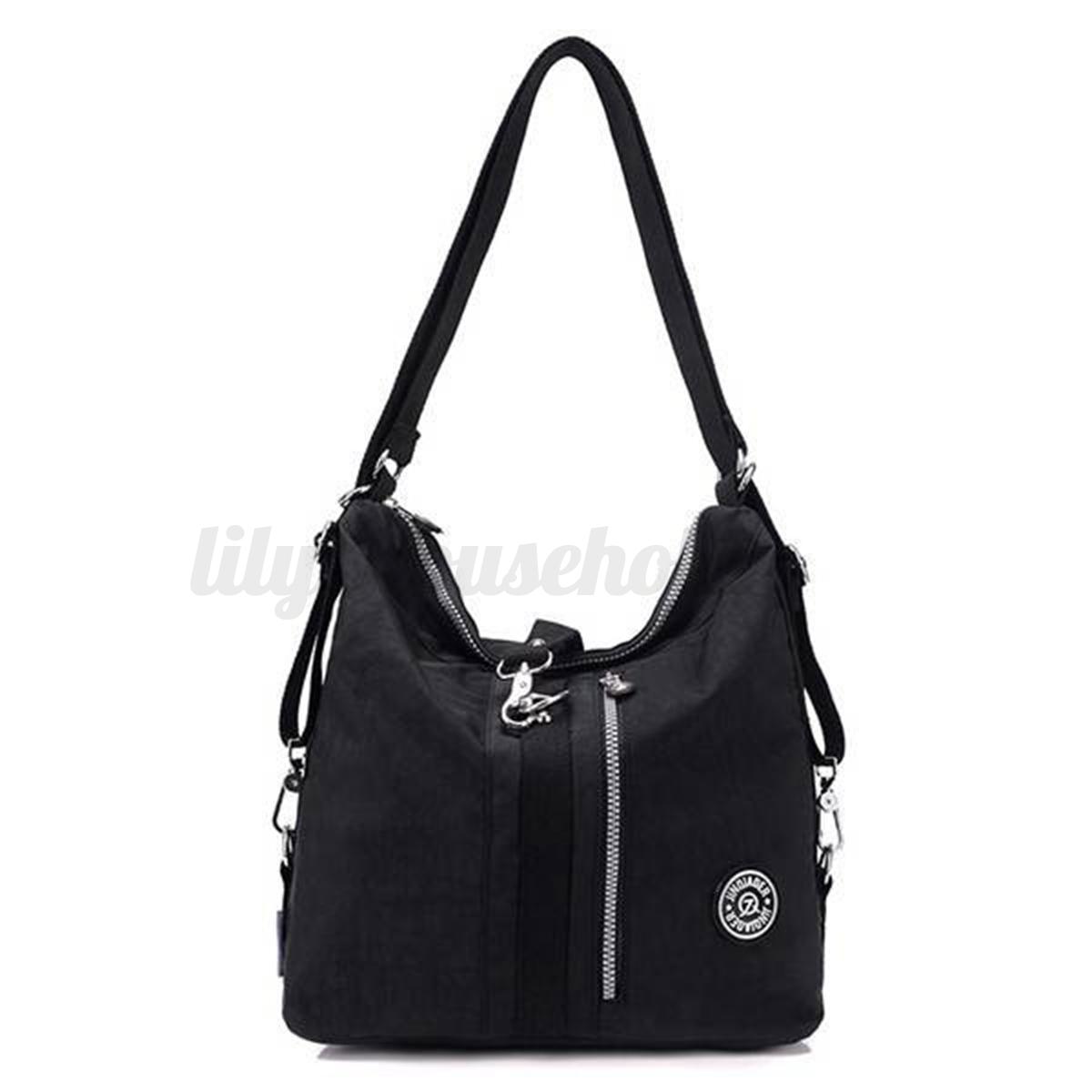 damen wasserdicht beutel rucksack umh ngetasche handtasche. Black Bedroom Furniture Sets. Home Design Ideas