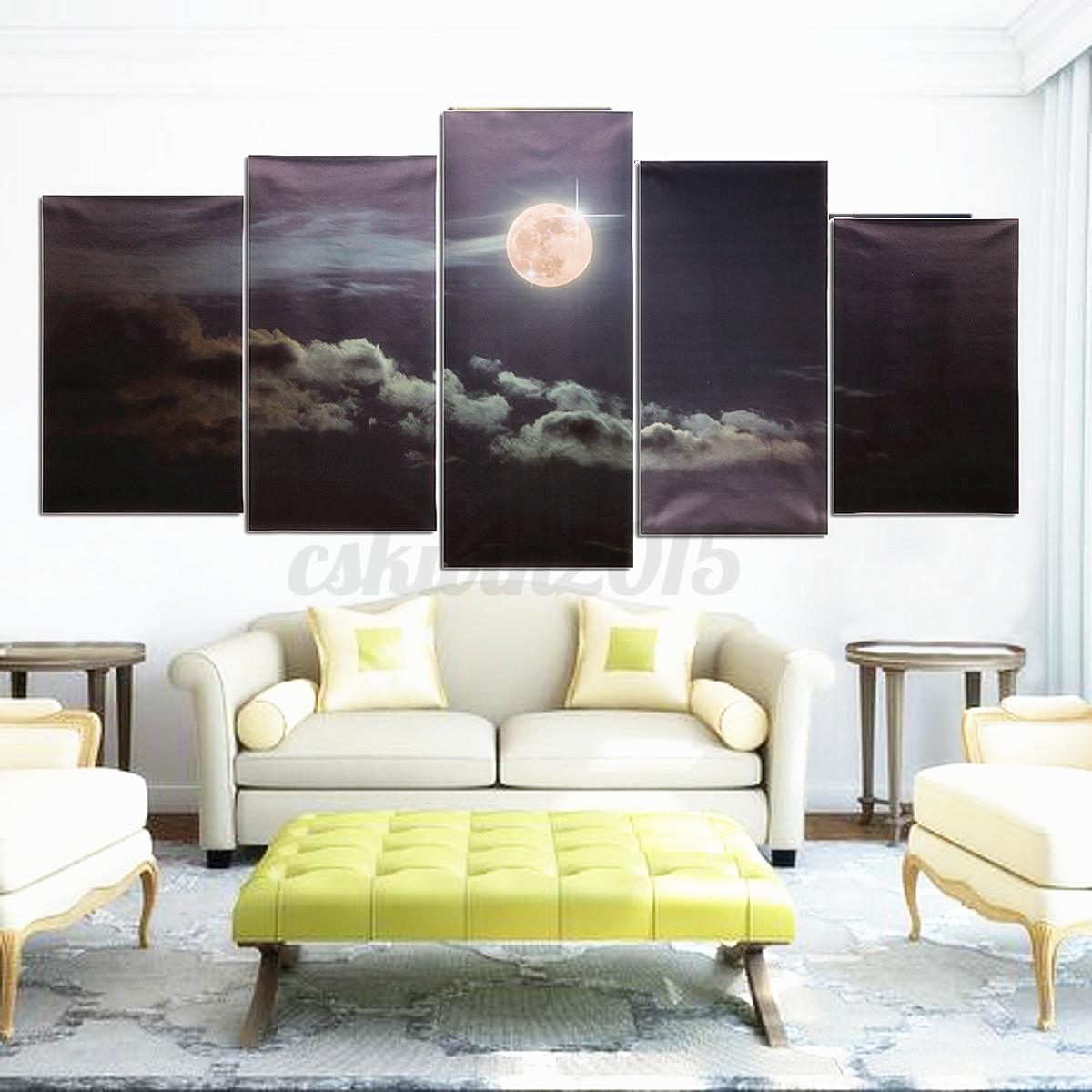 Cuadro Moderno Fotografico Pintura Lienzo Paisaje Gran Decoración ...
