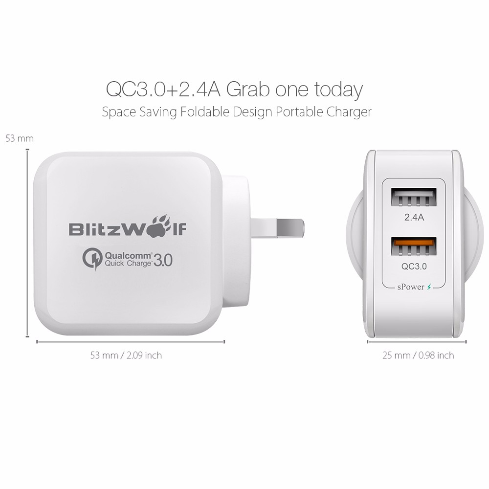 AU-BlitzWolf-QC3-0-Dual-USB-Quick-Wall-Charger-Adapter-Plug-For-iPhone-Tablet