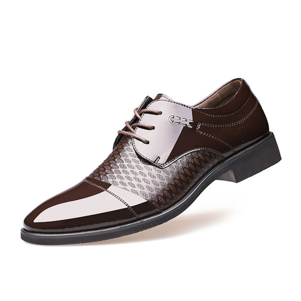 Mens Formal Business Oxfords Leather Shoes Casual Dress Shoes Fashion 2018 | EBay