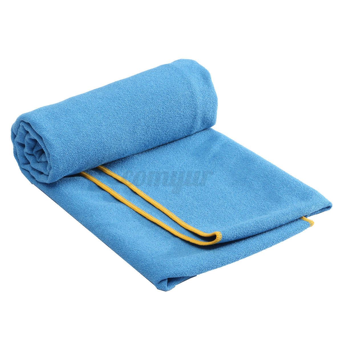 Yoga Towel Uk: Large Size Microfiber Yoga Mat Towel Non-Slip Blanket Pad