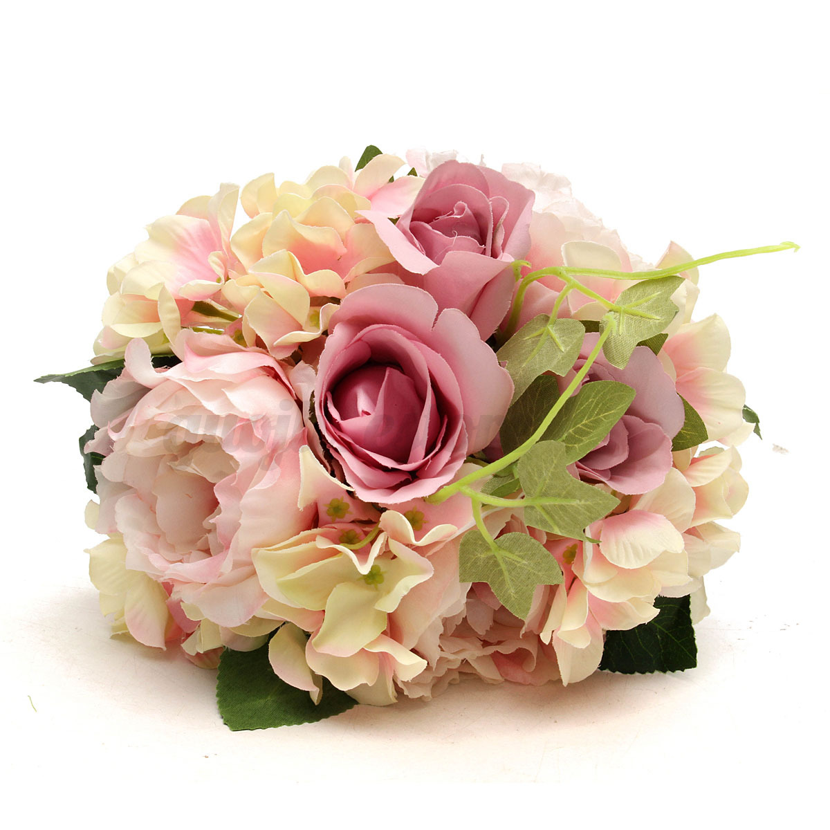 Artificial rose bridal bridesmaid flowers hand bouquet wedding party artificial rose bridal bridesmaid flowers hand bouquet wedding izmirmasajfo