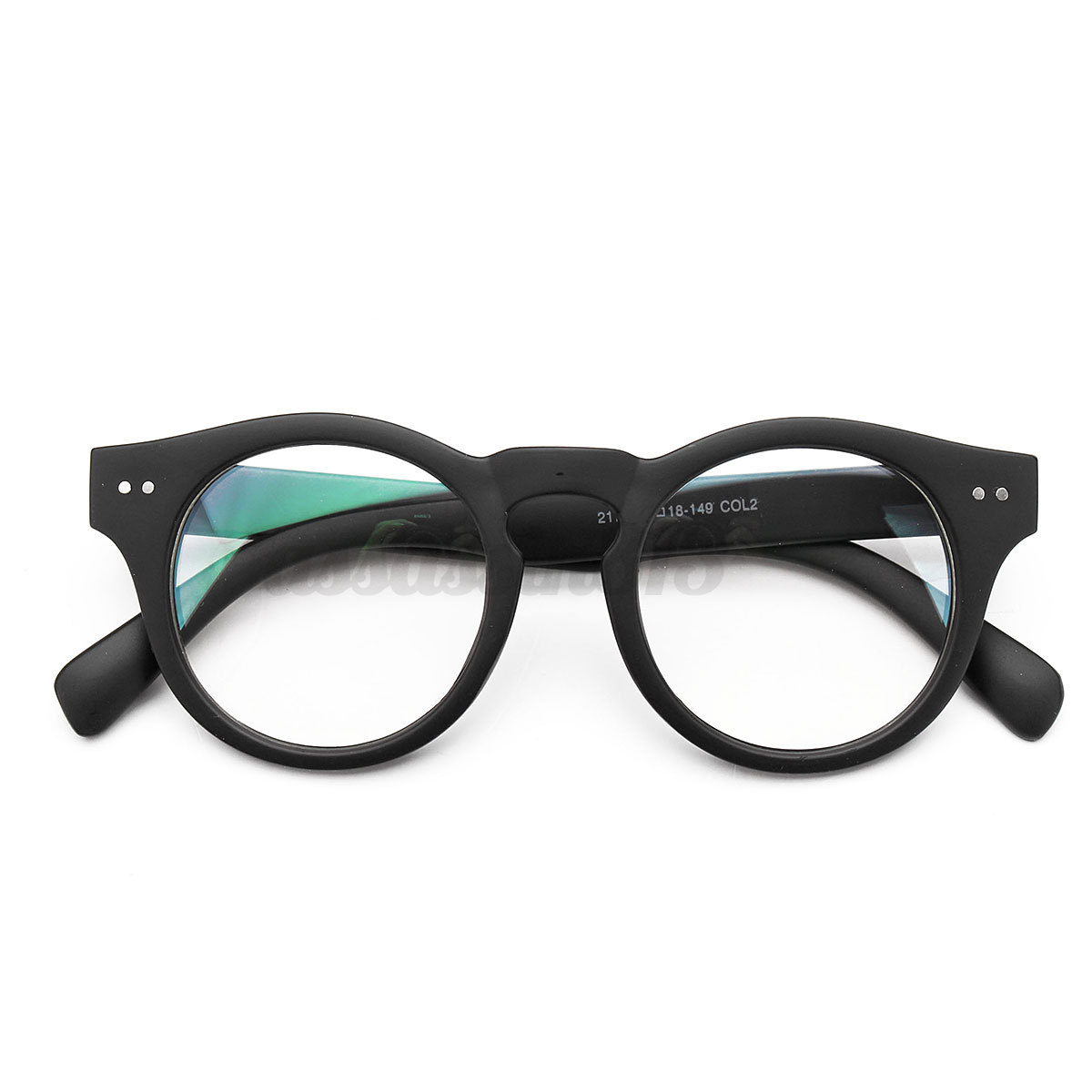 Eyeglass Frame Oxidation : Vintage Women Men Clear Eyeglass Frame Glasses Retro ...