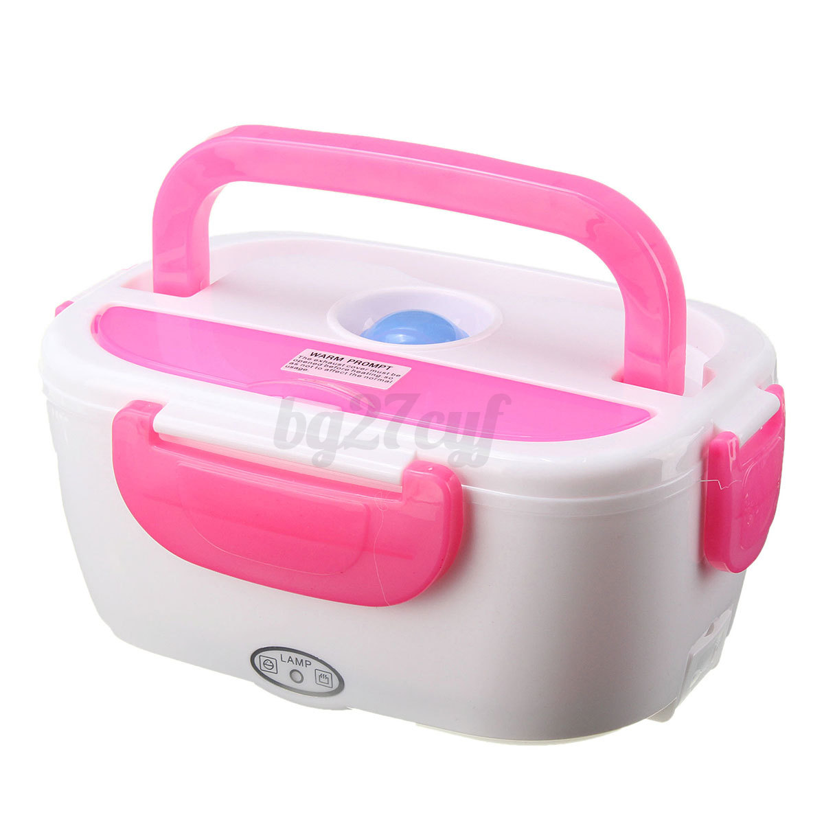 portable electric heated car plug heating lunch bento box food warmer 12v 1 5l ebay. Black Bedroom Furniture Sets. Home Design Ideas