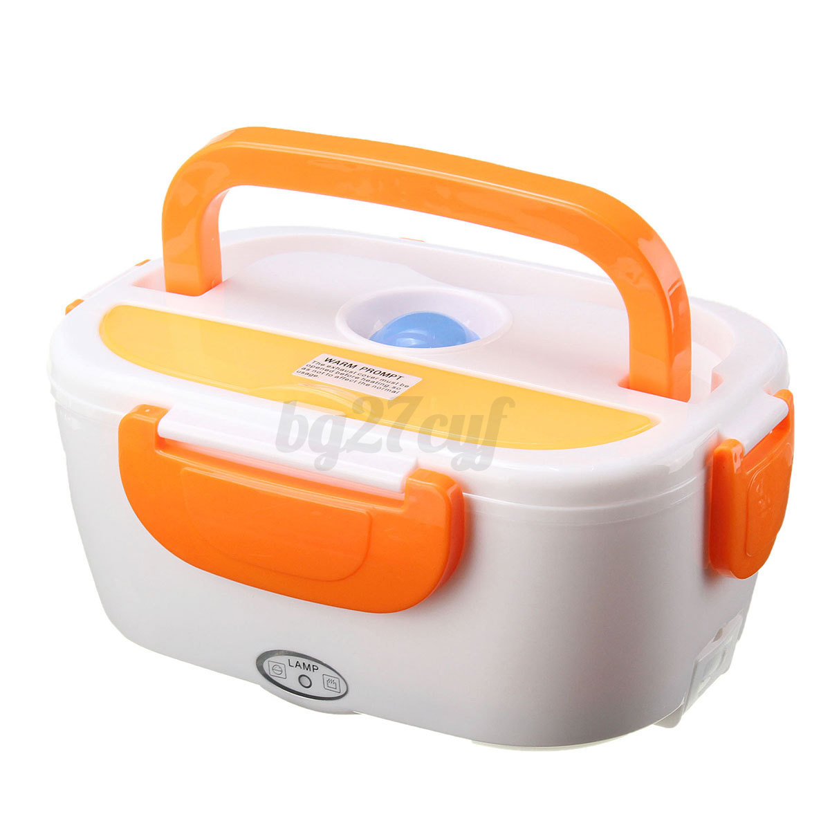 portable electric heated car plug heating lunch bento box food warmer 12v 1 5. Black Bedroom Furniture Sets. Home Design Ideas