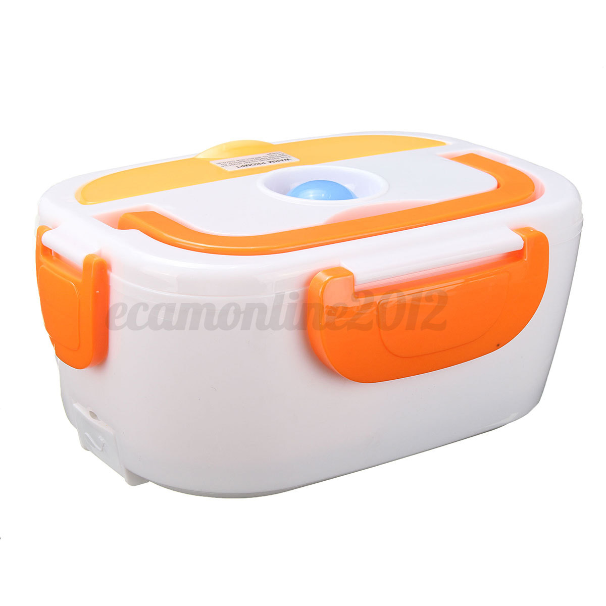 car plug charger heating lunch box 12v electric heated lunch bento food warmer ebay. Black Bedroom Furniture Sets. Home Design Ideas