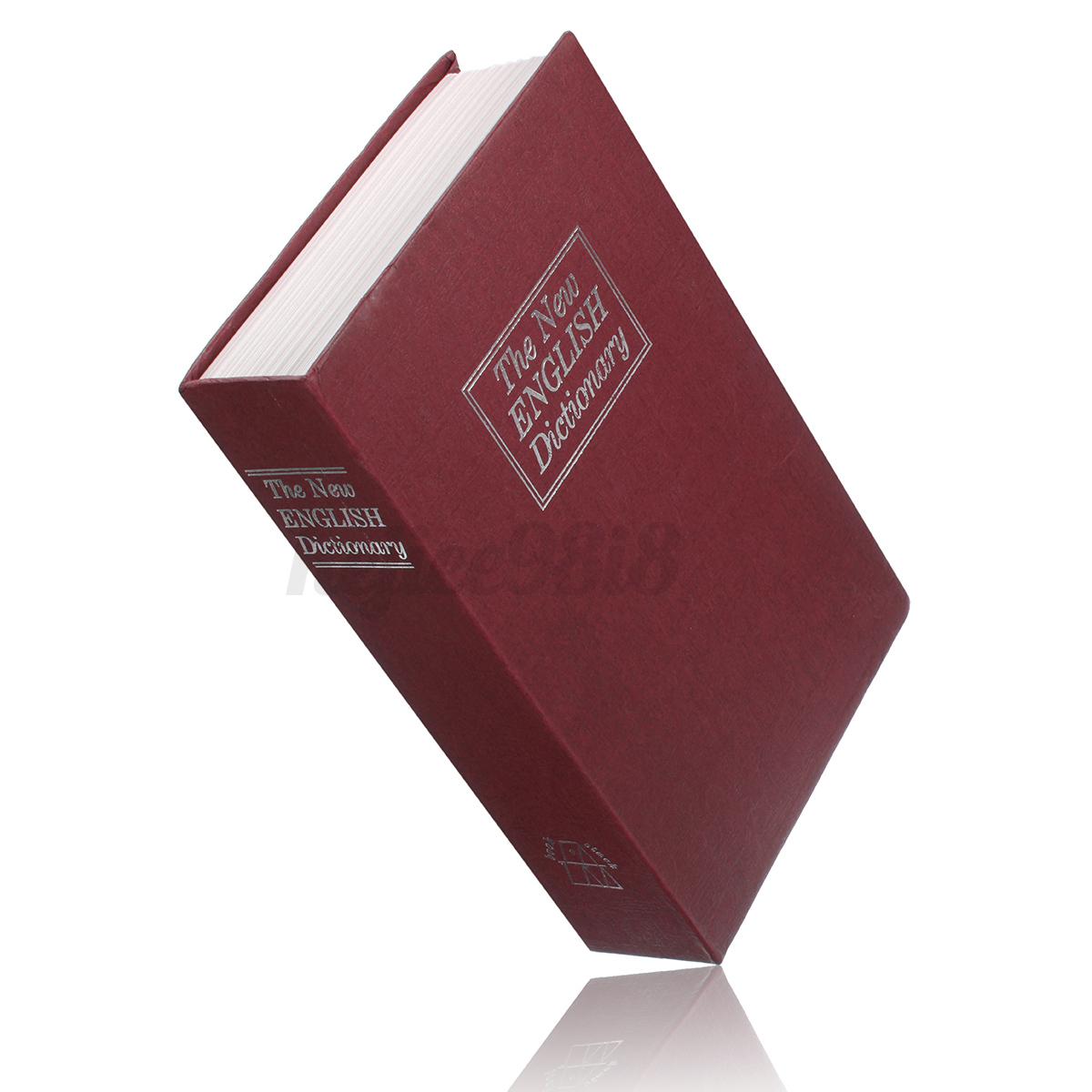 Book safe security box storage piggy bank lock stash keys for Secret piggy bank
