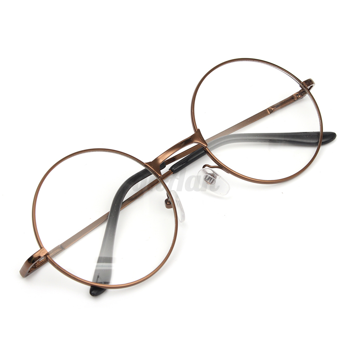 Guess Glasses Frame Parts : Metal Vintage Men Women Clear Lens Eyeglasses Retro Round ...