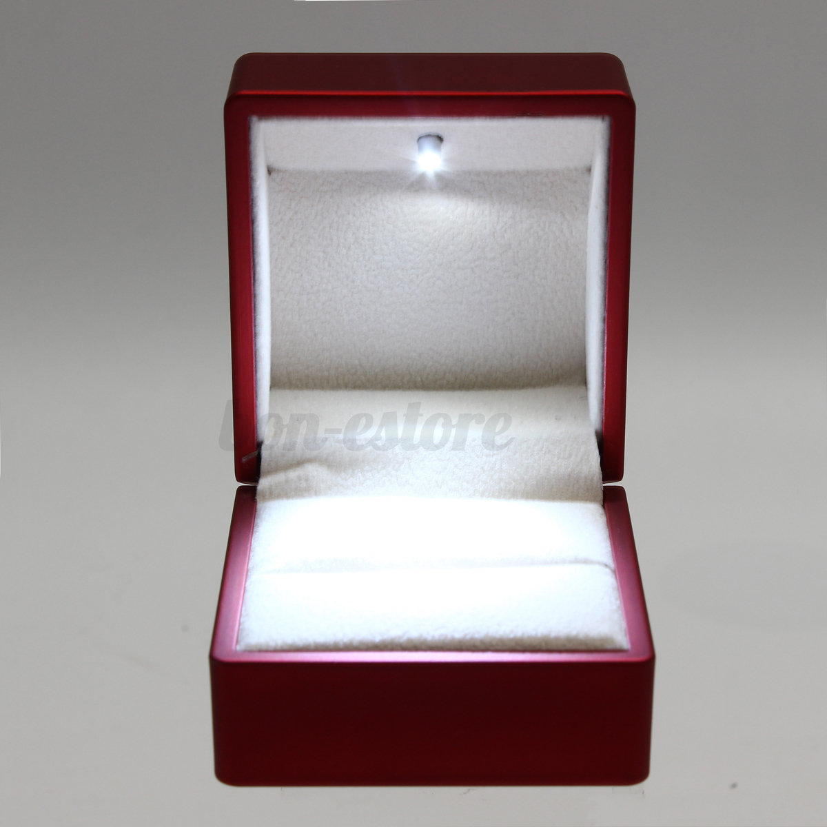 Fashion Led Lighting Earring Jewelry Box Engagement
