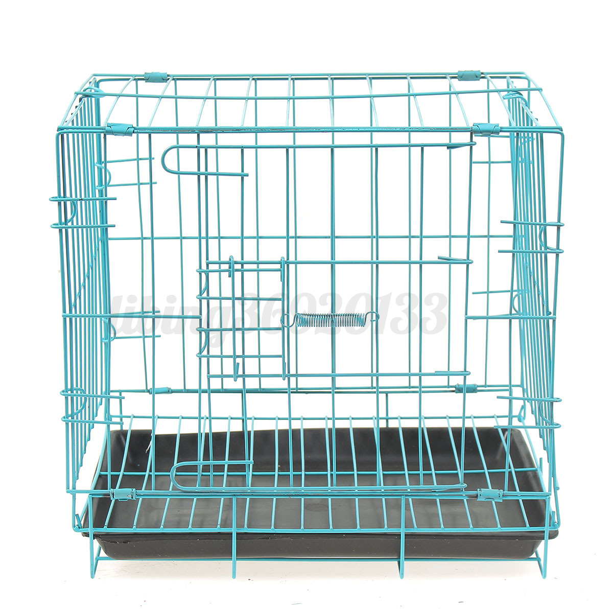 24 Quot Small Dog Pet Cat Crate Cage Kennel Metal Folding Door