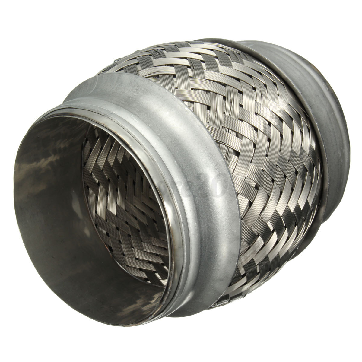 Quot stainless steel exhaust pipe double braided flex