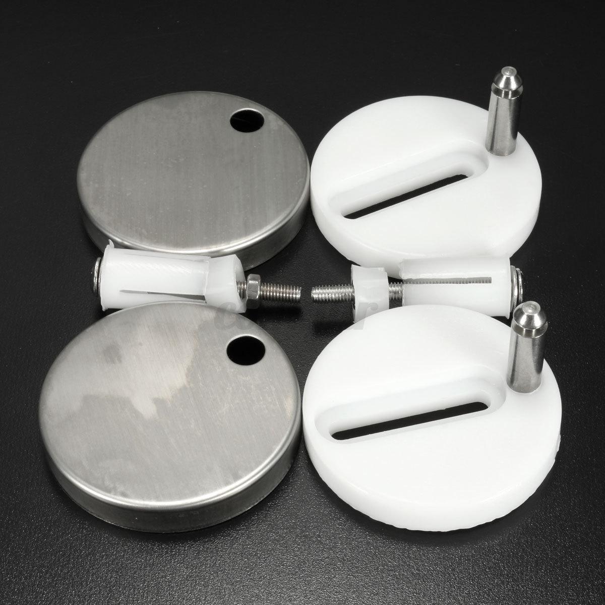 2x schrauben ersatz scharniere toilettensitz toilettendeckel klodeckel wc sitz ebay. Black Bedroom Furniture Sets. Home Design Ideas