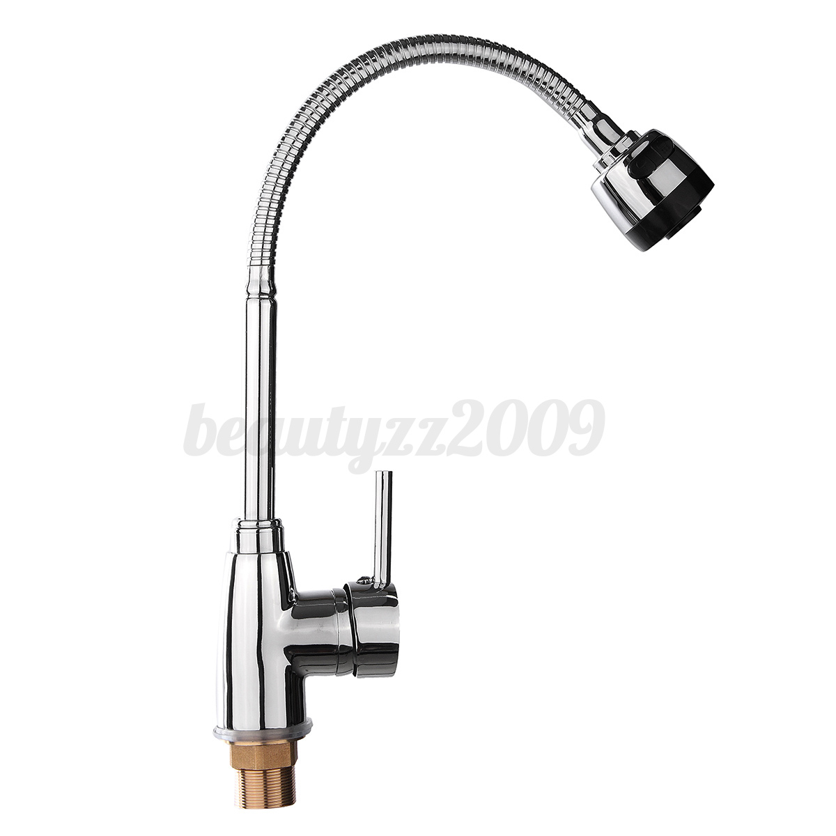 360 Kitchen Pull Out Hot Cold Mixer Tap Laundry Sink Faucet Basin Water Spout Ebay