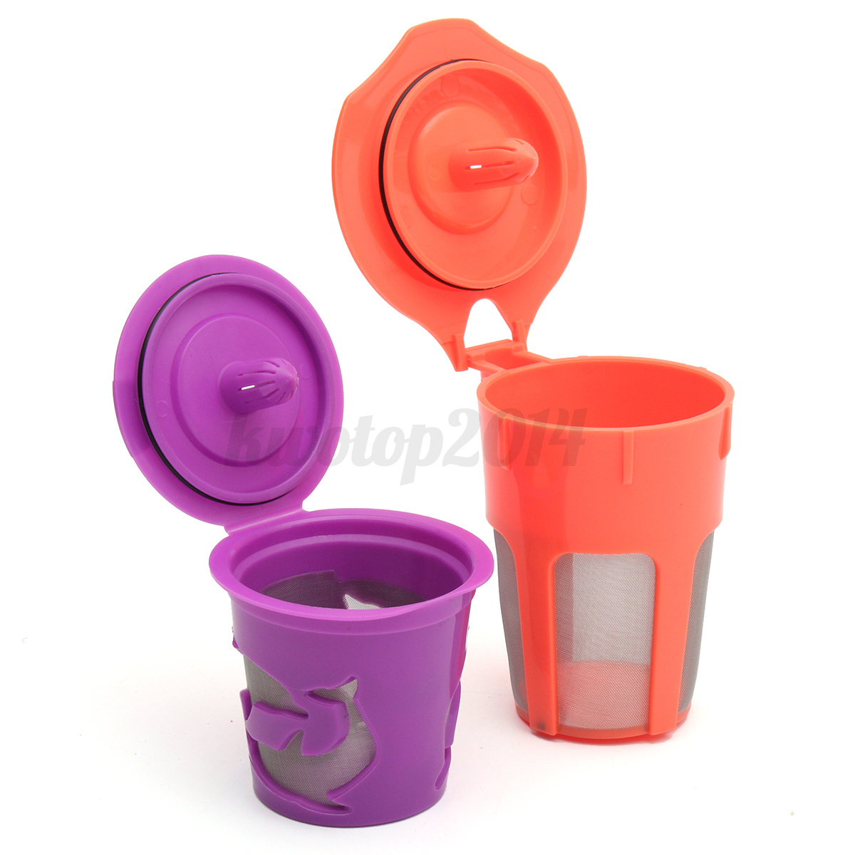 Refillable Reusable Coffee Filter K-Carafe+K-Cups Pod Cup Combo For Keurig 2.0 eBay