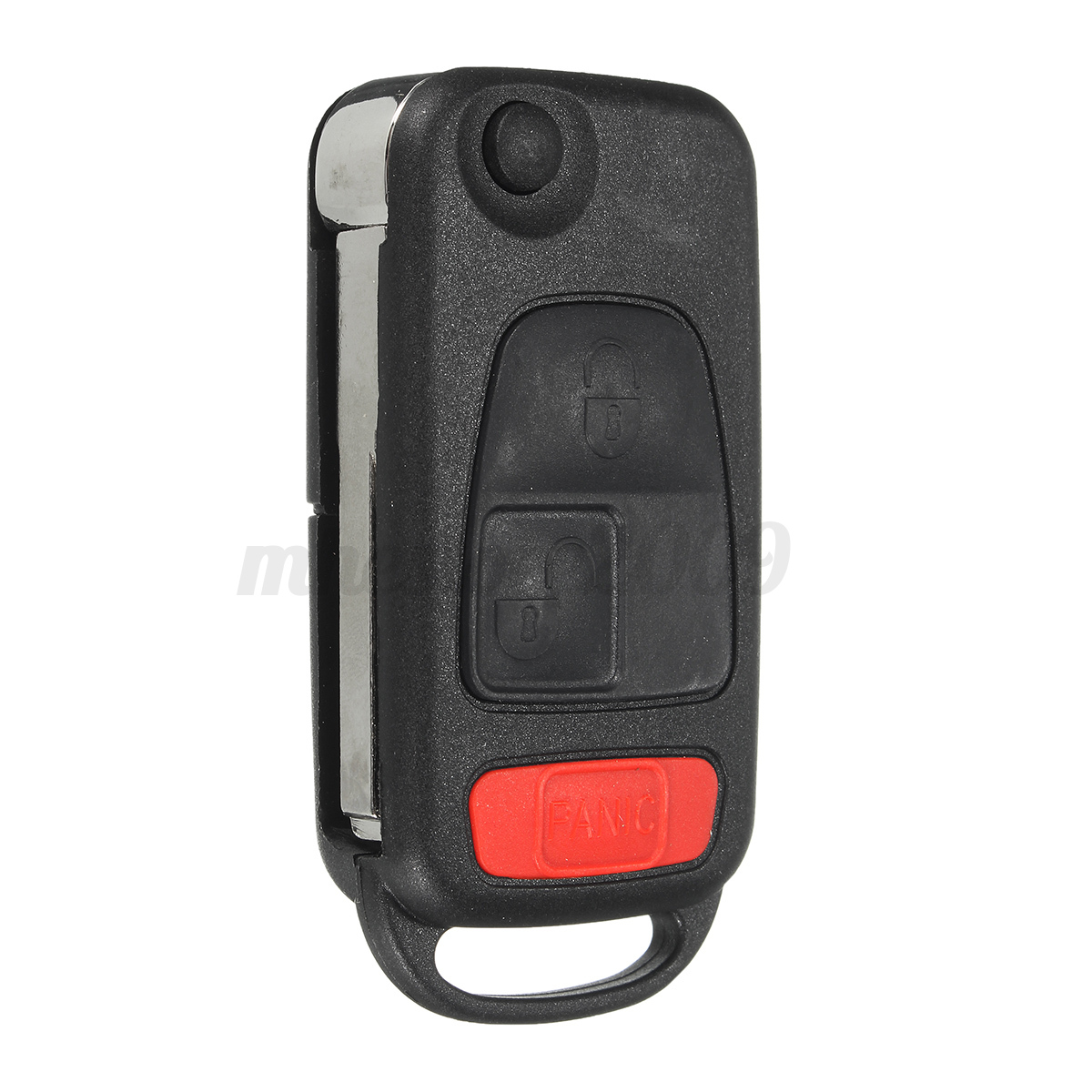 3 Button Flip Folding Remote Key Fob Case Shell For