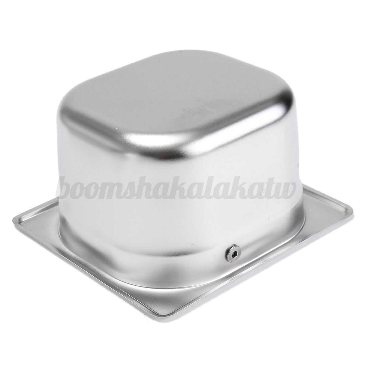 Stainless Knock Box Flip Bang Recycle Amp Rubber Bar For
