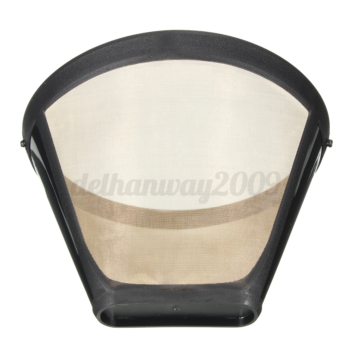 Permanent Reusable #4 Cone-Style Coffee Maker Filter Stainless Mesh Basket New eBay