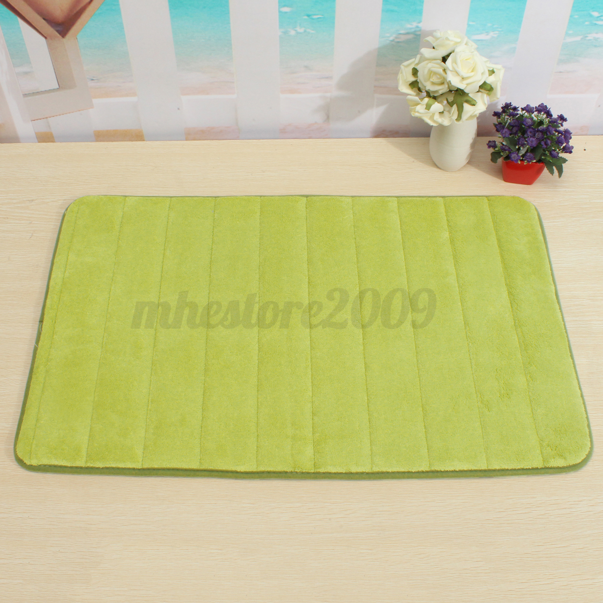 Carpet In A Bathroom: Memory Foam Non Slip Bathroom Bath Mat Bedroom Shower
