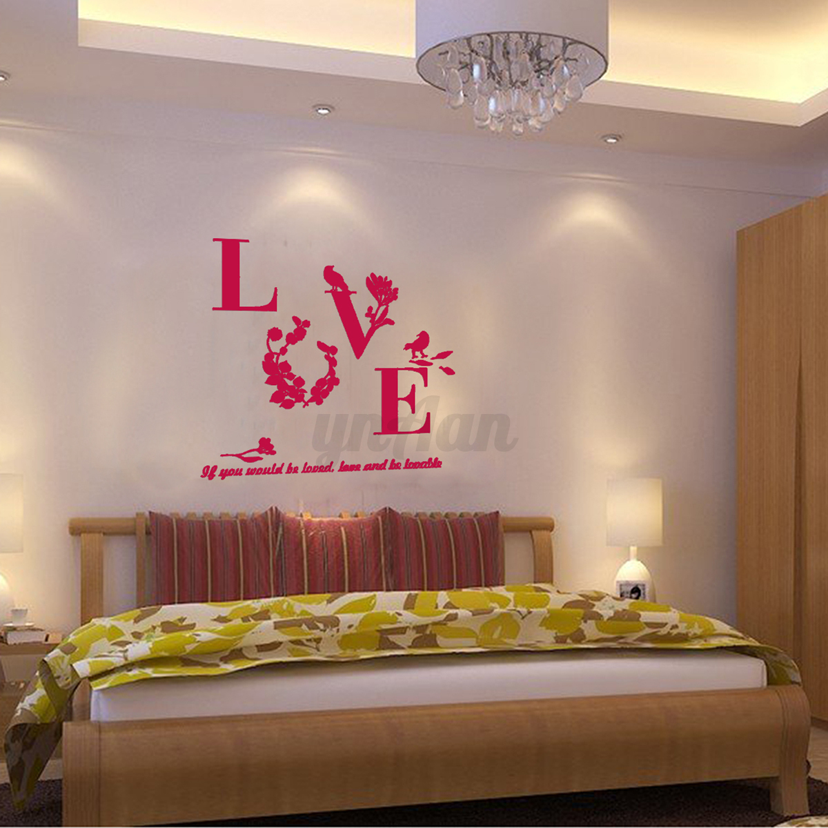 3d modern acrylic mirror wall sticker art decal mural for Diy wall photo mural
