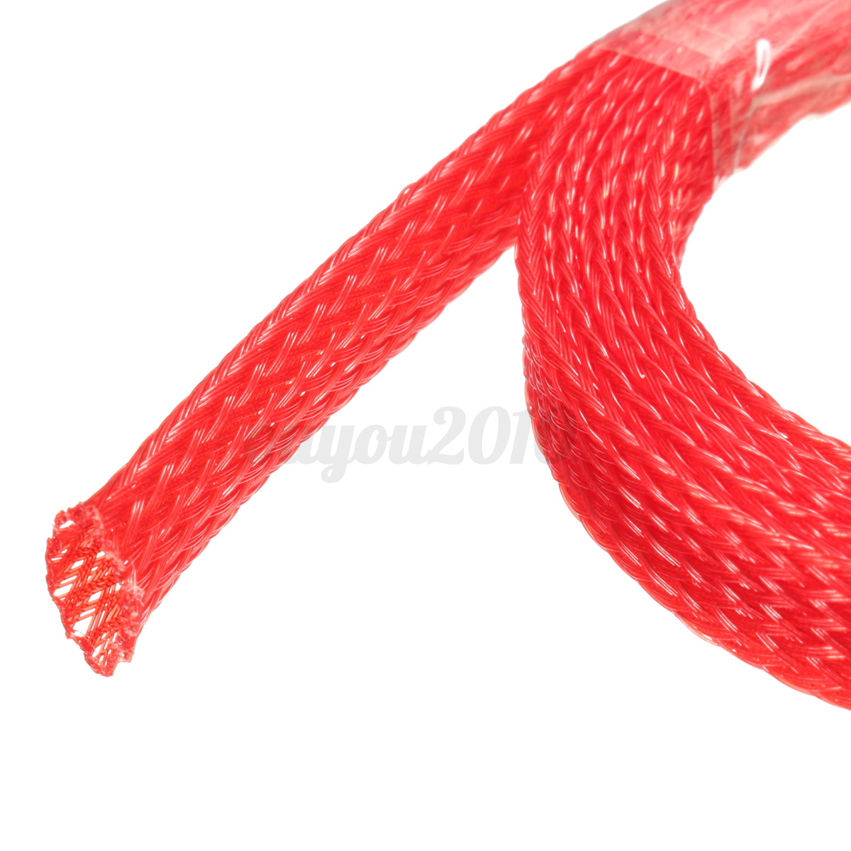 nos launcher 8 pin wire harness 1m 8mm braided wire tidy mesh pet expandable sleeving ... wire harness mesh #14