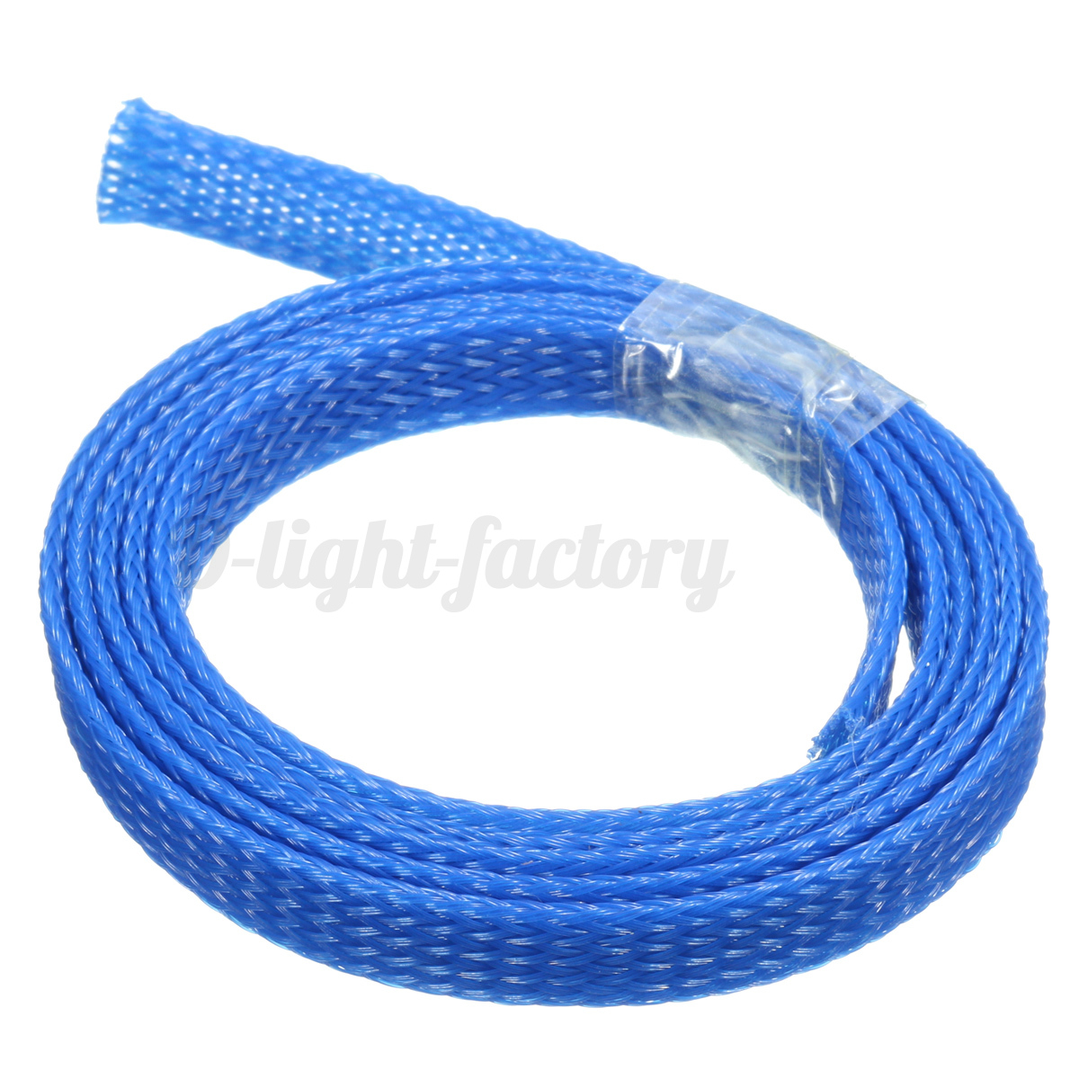 1pcs 1m 8mm Braided Wire Tidy Mesh Expandable Sleeving Cable Harness