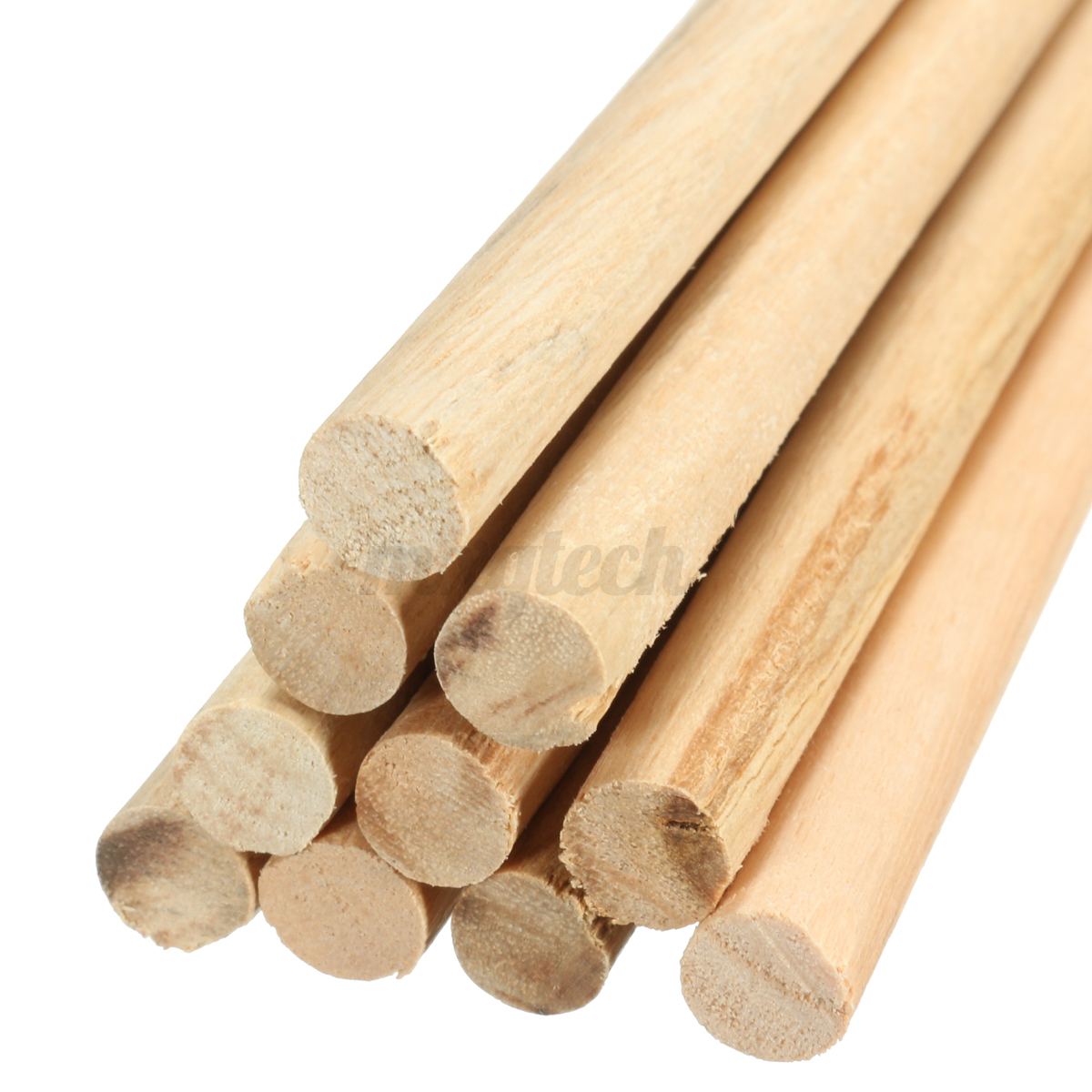 10pcs 20cm round wooden lollipop lolly sticks cake dowels for Wooden dowels for crafts