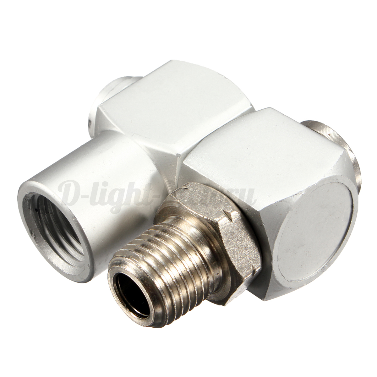 Swivel air line connector ″ bsp pneumatic fitting screw