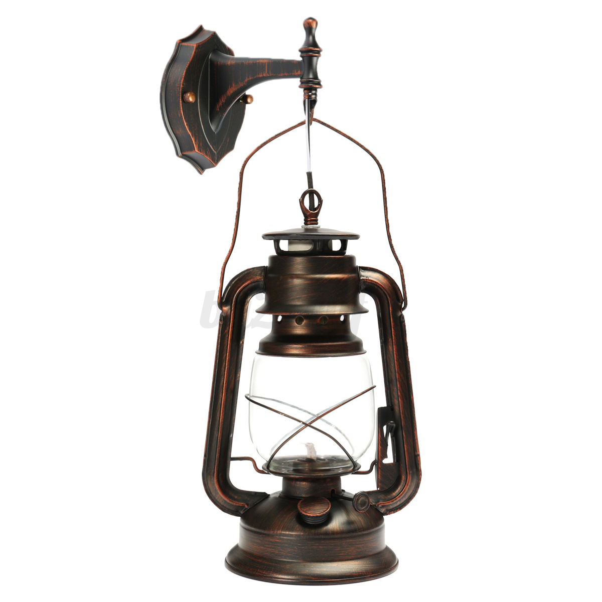 Vintage industrial retro iron wall lamp sconce chandelier for Vintage exterior light fixtures