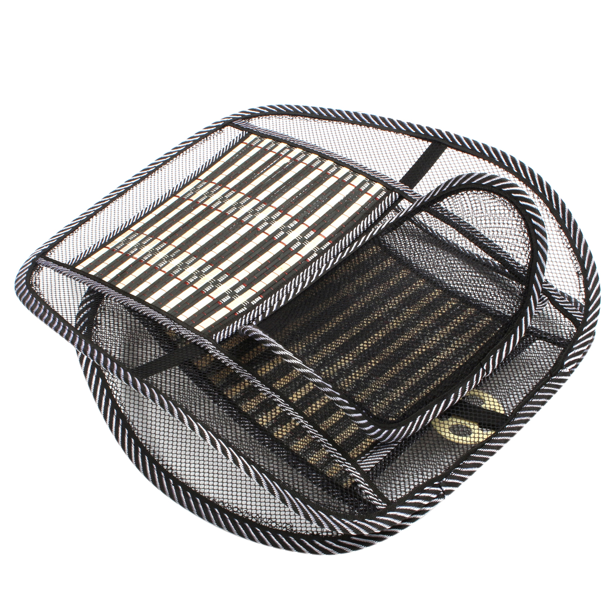car home office cooling breathable mesh wire bamboo chip seat cushion cover mat ebay. Black Bedroom Furniture Sets. Home Design Ideas