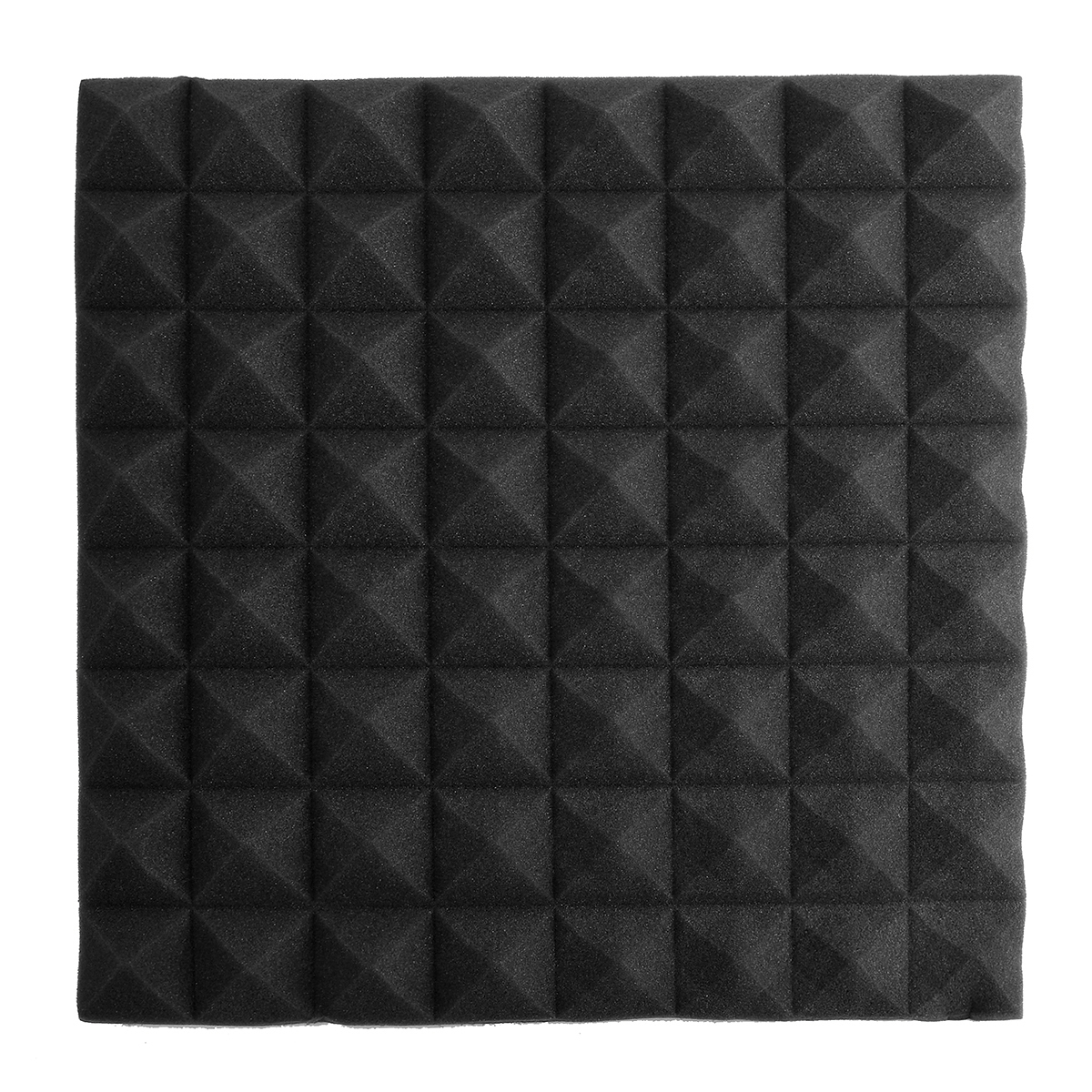 20 100pcs acoustic foam sound stop absorption treatment proofing panel 20x20x2 ebay. Black Bedroom Furniture Sets. Home Design Ideas