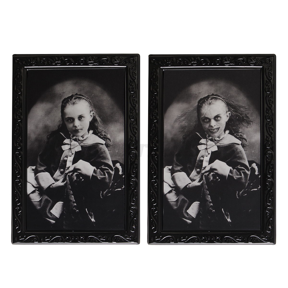 Horror-Halloween-Lenticular-3D-Changing-Haunted-Photo-Frame-Portrait-Wall-Decor