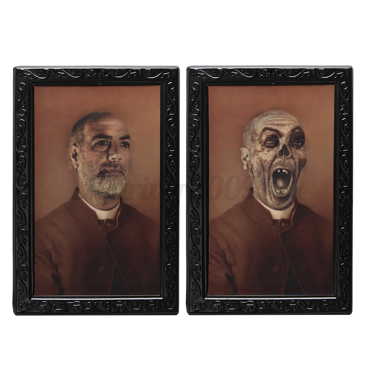 Horror halloween lenticular 3d changing haunted photo frame horror halloween lenticular 3d changing haunted photo frame jeuxipadfo Images
