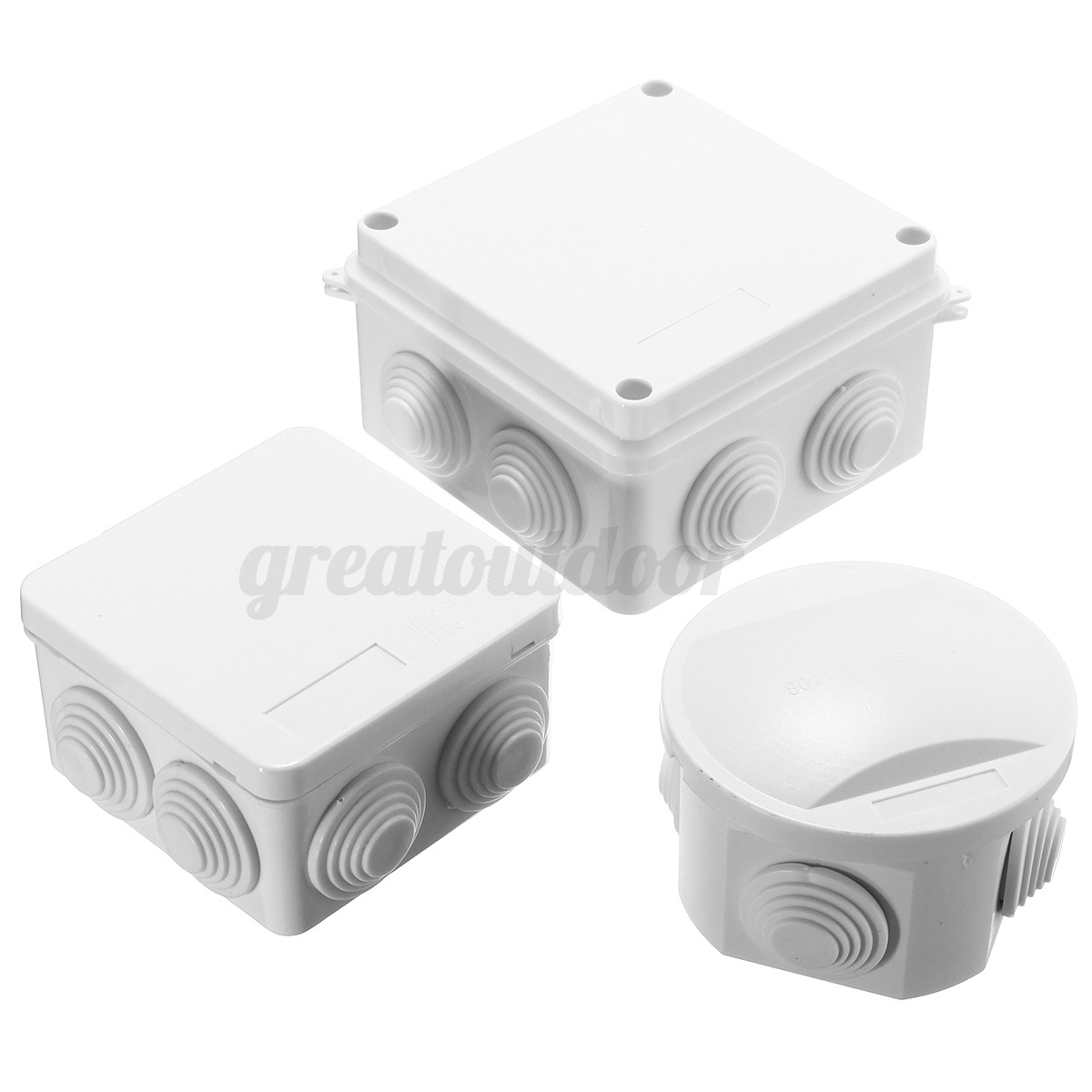 Waterproof Ip65 Terminal Junction Project Box Outdoor Electrical Enclosure Case
