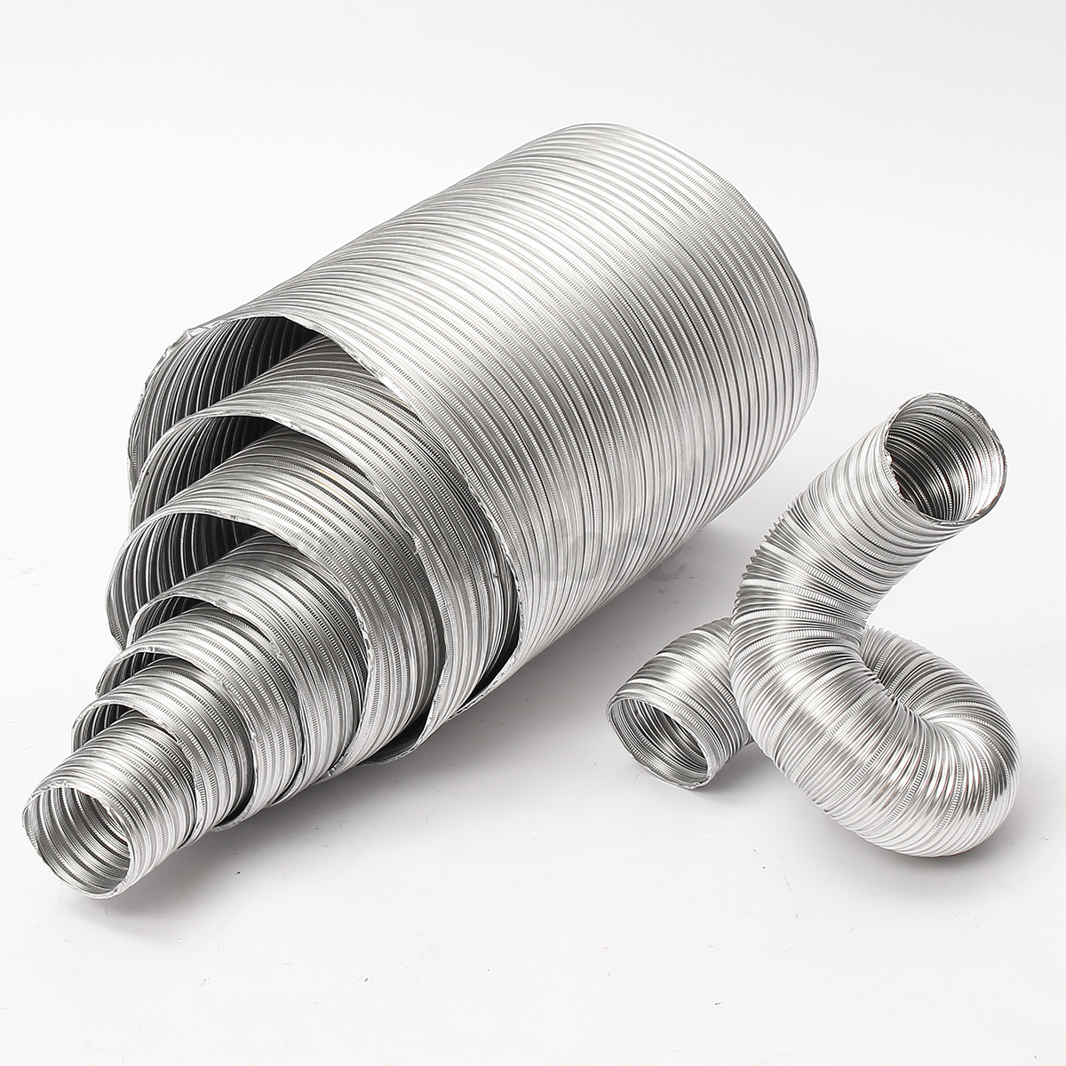 Vent Duct Size : Aluminum flexible exhaust air vent pipe duct ducting tube