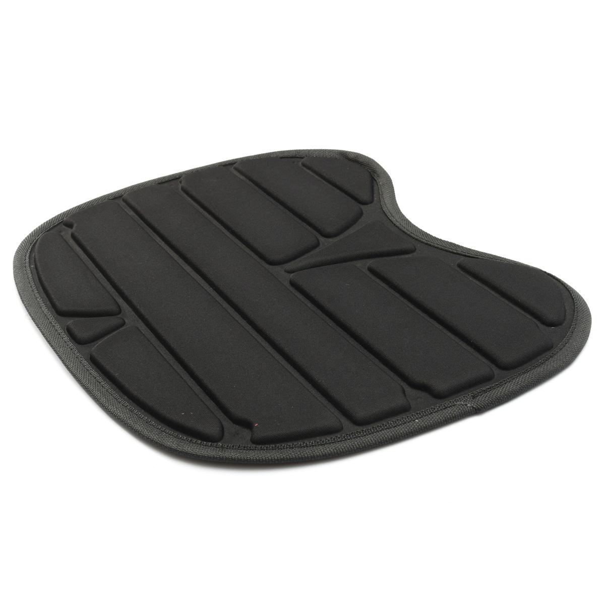 1x kayak canoe dinghy boat EVA padded seat cushion black soft comfFJ