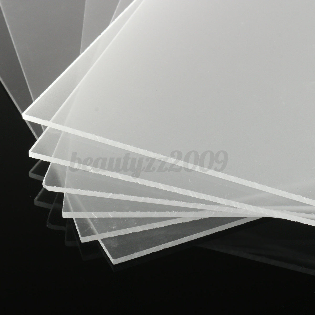 3mm Frosted Clear Acrylic Perspex Sheet Cut To Size