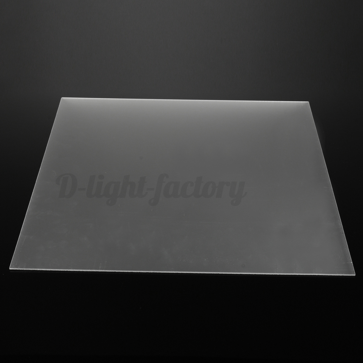 Frosted Clear Acrylic Perspex Sheet Cut To Size Plastic