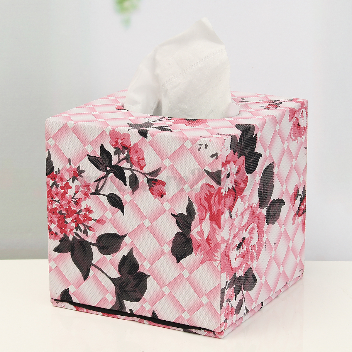 Square Tissue Box Cover For The Car