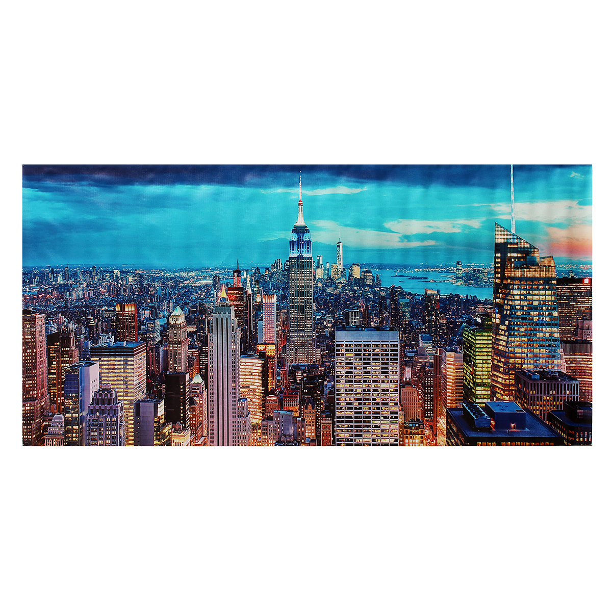 tableau peinture l 39 huile toile abstraite paysage moderne art d cor mural salon ebay. Black Bedroom Furniture Sets. Home Design Ideas